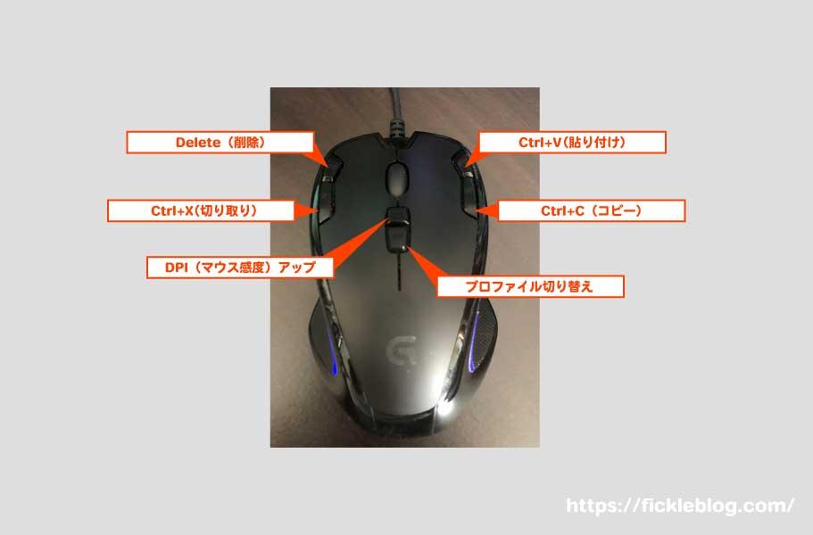 G300Srのプロファイル例